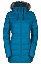 Bonfire HALIFAX Womens Down Fill Snowboard Ski Jacket Teal Blue Medium NEW