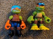 New ListingTmnt Half Shell Heroes Teenage Mutant Ninja Turtles Lot Scuba Daredevil Mikeys
