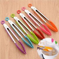 1Pcs Design Kitchen Tongs BBQ Tongs Barbecue Clip Food Clamp Bread Cake Clip