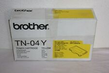 ORIGINAL BROTHER -  Cartouche de Toner TN 04 Y   Yellow  HL 2700 CN