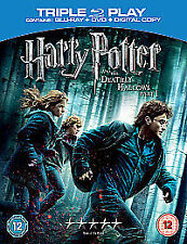 Harry Potter And The Deathly Hallows Part 1 (Blu-ray and DVD Combo, 2011, 3-Disc