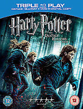 Harry Potter And The Deathly Hallows Pt 1 - Triple Play - Blu Ray, DVD & Digital