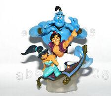 Yujin Disney Cinemagic Paradise Aladdin Genie Princess Jasmine figure gashapon
