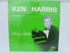 Ken Harris his Baldwin organ piano harpsichord & orchestra relaxing rhythms LP