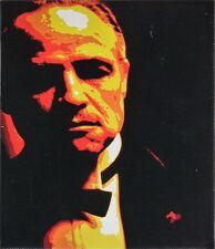 Der Pate - hochwertiger Leinwanddruck Don Vito Corleone The Godfather Gemälde