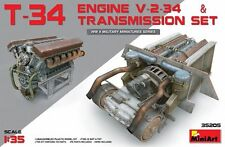 Miniart 1:35 SCALE  - T-34 Engine & Transmission Set MIN35205