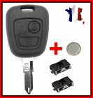 Guscio Sistema Keyless Telecomando Peugeot 106/206/107/207/306 2 Interruttore