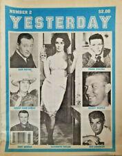 Rare VTG Yesterday 1989 Nashville Newspaper / Magazine 1989 Sinatra - John Wayne