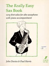 The Really Easy Sax Book, NEW Saxophone Music Teaching Book