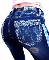 GRACE IN LA Easy Skinny Mid Rise Soft Denim Jeans 26 27 28 29 30 31 32 33 34