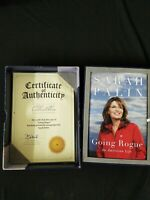 Sarah Palin Signed Autograph Going Rogue 1st/1st Limited Edition /5000 Book COA