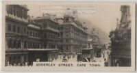 Adderly Street  Cape Town Union South  Africa 1920s Trade Ad Card