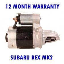 Subaru Rex MK2 Mk II 550 1981 1982 1983 1984 1985-1987 Motor de Arranque Rmfd
