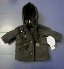 Koala Baby Peacoat With Hood, Newborn-3 Mo., New