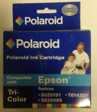 Epson S020191, S020089, T014201 film by Polaroid       H-14