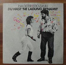 "Single 7"" Ina Deter EDO ZANKI - Du hast ´ne Ladung Dynamit 1985 TOP!"