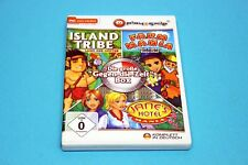 PC - the great against time Box, Island Tribe Land of the Gods & Farm Mania