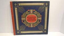 1933 Complete Book of German Cigarette Cards Waldorf Astoria 96 Cards Navy