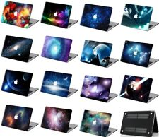 Sky Galaxy Pattern Rubberized Hard Laptop Case KB Cover For New Macbook Pro Air
