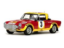 SUNSTAR 4952 FIAT 124 ABARTH AUTO MODELLO Barbasio Sodano e Africa RALLY 74 1:18 TH