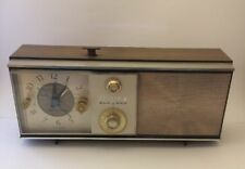 Vintage Zenith AM Tube Radio With Alarm Clock Works Perfect Model #Z278H 2-2677