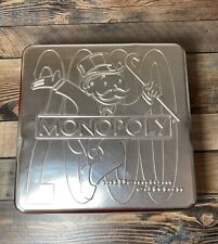 Monopoly 2000 Millenium Edition Board Game Collectors Tin