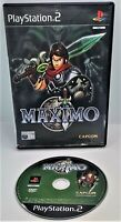 Maximo Video Game for Sony PlayStation 2 PS2 PAL TESTED