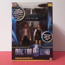 DOCTOR WHO (DR) - Christmas Adventure Set - TARDIS Amy Pond & Doctor (NEW 2009)
