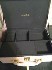 Lancome Pink Large Two Layer Cosmetic Box