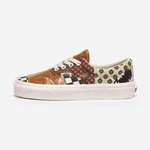 Vans X Tiger Patchwork Era All Size Authentic Men's Sneakers - VN0A4U391IO