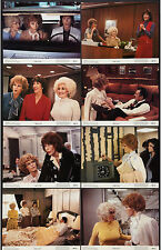 9 TO 5 original 1980 lobby card set DOLLY PARTON/JANE FONDA 11x14 movie posters