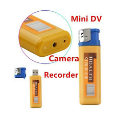 Lighter Spy DVR Hidden Camera USB Mini Camcorder Video Photo Recorder Surveillan