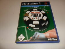 PLAYSTATION 2 PS 2 World Series of Poker