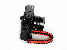 """Purple//Pink Shark/"""" Paracord Wrist Strap for DSLR Compact Cameras Fuji Canon Sony"""