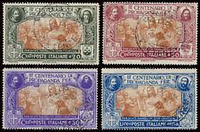 ITALY KINGDOM ITALIA REGNO 1923 - PROPAGANDA FIDE (Sass. 131-134) USATA OFFERTA!
