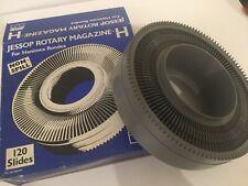 3 Jessop Rotary Magazines for Hanimex Rondex 120 for 35mm slides.