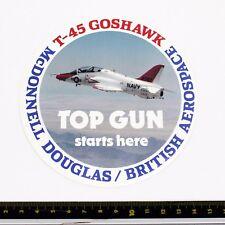 T-45 Goshawk - McDonnell Douglas - Promotional Sticker - Good Condition