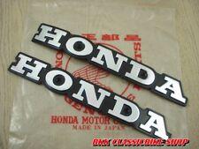 Honda Super Sport CB550 F CB550 K CB650 F CB750 F Fuel Gas Tank Emblem Badge L&R
