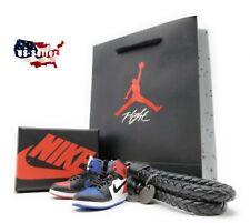 Nike Air Jordan 1 TOP 3 RETRO 3D Keychain - Single/Gift Set w/ Box/Bag