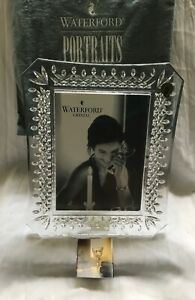 WATERFORD CRYSTAL IRELAND LISMORE PICTURE FRAME 5 X 7 NIB