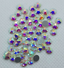 DMC NON-Hotfix Strasssteine Crystal AB,Premium-Qualität,Menge+Grösse wählbar