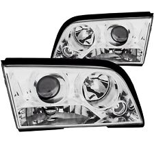 ANZO PROJECTOR HEADLIGHTS CHROME CLEAR FOR 94-00 C220/C230/C280/C36/C43 4DR W202