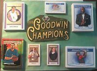 Pick you cards - Lot - 2019 Upper Deck Goodwin Champions parallels & inserts