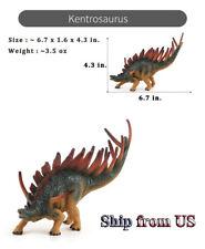 "Jurassic Realistic Kentrosaurus Dinosaur Model 7"" Long Figure For Kids Toy Gift"