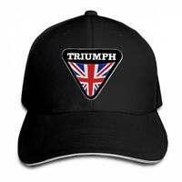 Triumph Motorcycle Logo Adjustable Cap Snapback Baseball Hat