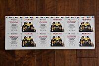 "ULTRA RARE Beatles ""Yellow Submarine""  CD3 Single Artwork Press Sheet 22""x8 1/4"""