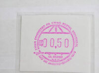 Automatenmarken postfrische Sammlung aus aller Welt, Brasilien Nr. 1 etc.