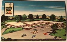 postcard Holiday Inn Waynesboro Afton Va Ken West roadside America Old Cars