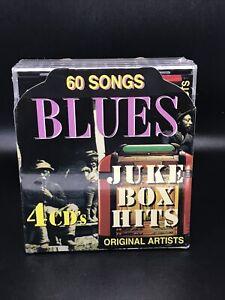 Blues:Juke Box Hits [Box] - 4  CDs - 60 Songs - New & Sealed - Original Artists