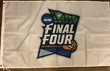 NCAA Final Four 2019 Flag 3x5 Basketball Minneapolis White Banner
